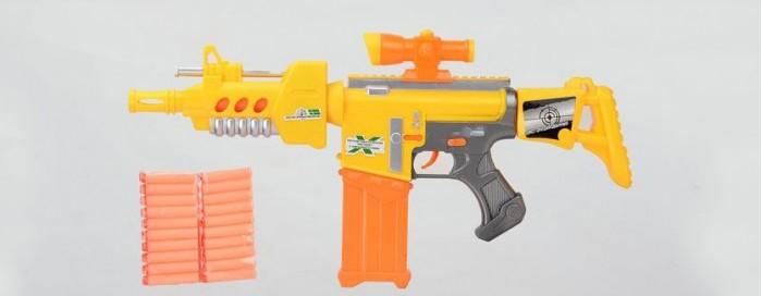 Фото - Игрушечное оружие Tongde Автомат с пулями на присосках 10 шт. T151-D2004 игрушечное оружие яигрушка автомат ак 47 яиг 103