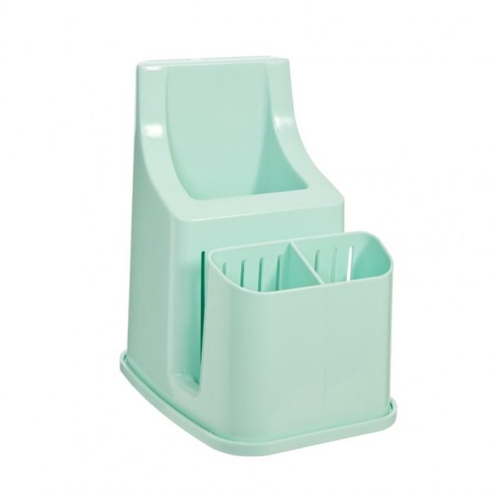 Картинка для Посуда и инвентарь Полимербыт Подставка для столовых приборов 3 секции