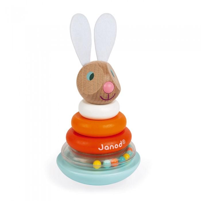 Развивающие игрушки Janod Пирамидка-качалка Кролик недорого