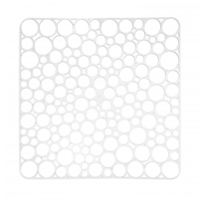 Картинка для Посуда и инвентарь Полимербыт Решетка квадратная для мойки 30x30 см