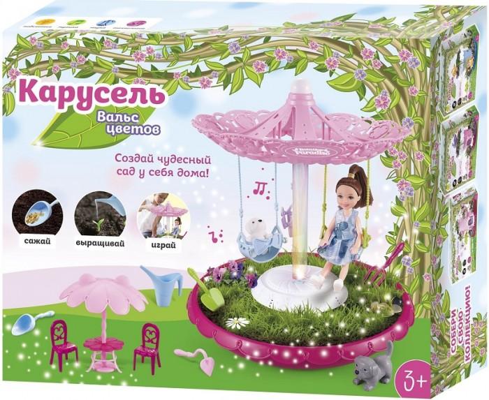 Кукольные домики и мебель Вальс цветов Набор Карусель карусель для детей 3 4 лет
