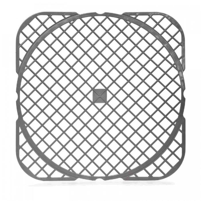 Картинка для Посуда и инвентарь Полимербыт Решетка для мойки универсальная в упаковке