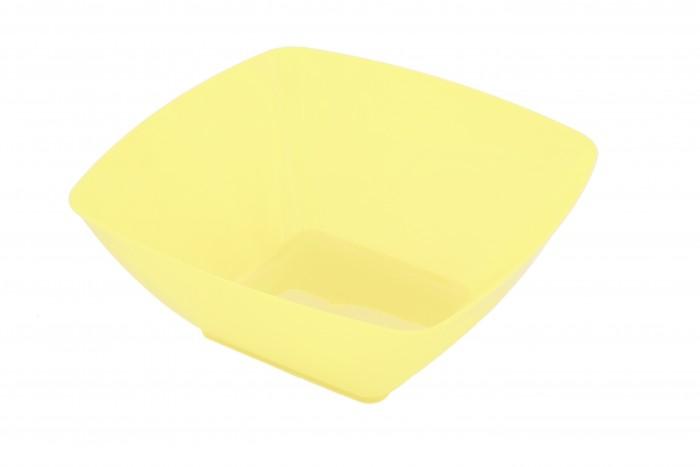 Картинка для Посуда и инвентарь Полимербыт Салатник квадратный 3.5 л