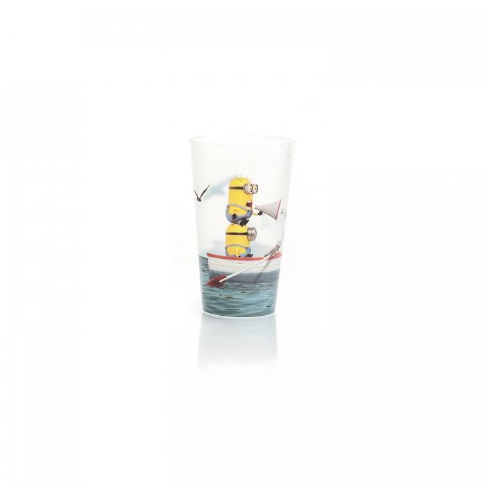 Картинка для Посуда Полимербыт Стакан Миньоны 0.4 л