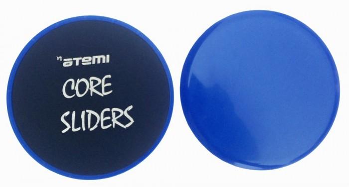 Спортивный инвентарь Atemi Диски для скольжения Core Sliders 18 см