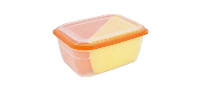 Контейнеры для еды Полимербыт Контейнер СВЧ Grill Menu прямоугольный 1.8 л