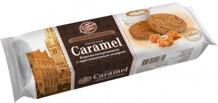 Фото - Печенье Хлебный спас Печенье карамелизированное с тростниковым сахаром 200 г печенье слодыч с арахисом 450 г
