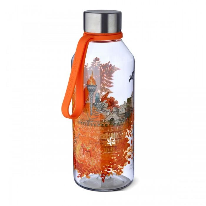 Фото - Бутылки для воды Carl Oscar Бутылка спортивная WisdomFlask Fire 0.65 л термокружка carl oscar click n´sip 0 4 л белый
