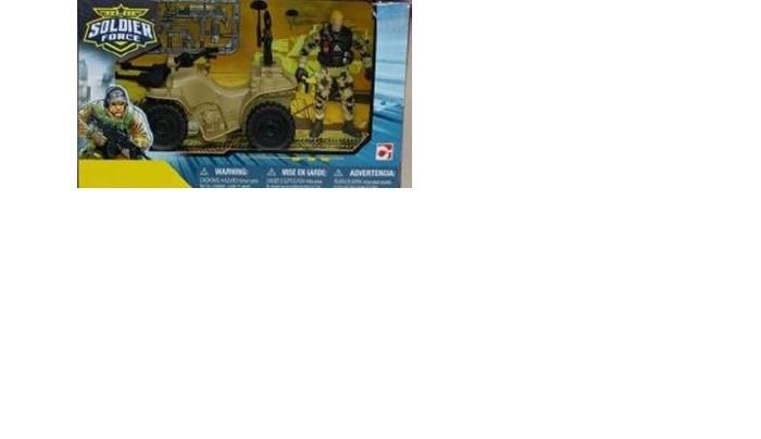 Игровые наборы Chap Mei Игровой набор Солдат на квадроцикле