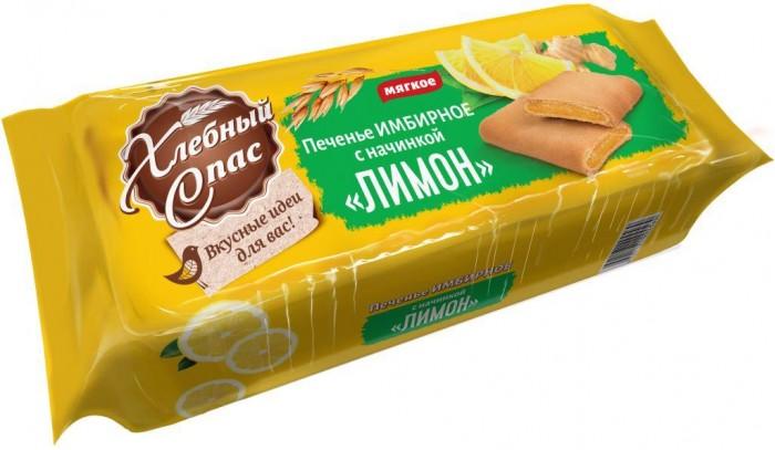 Печенье Хлебный спас Печенье имбирное с лимоном 200 г
