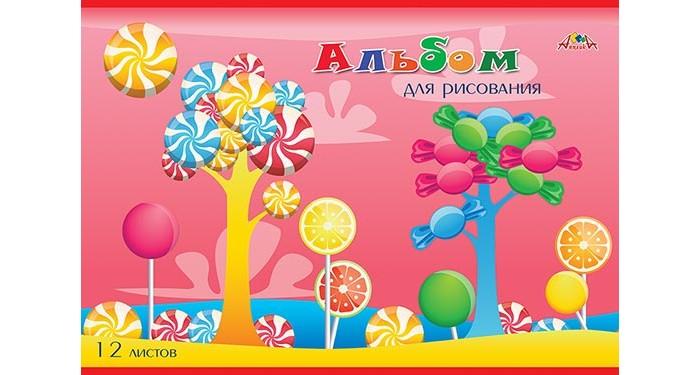Принадлежности для рисования Апплика Альбом для рисования Сладкое дерево А4 12 листов