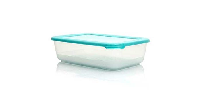 Контейнеры для еды Полимербыт Контейнер для СВЧ Лайт прямоугольный 4 л контейнер для хранения koziol bottichelli 4 5 л темно серый