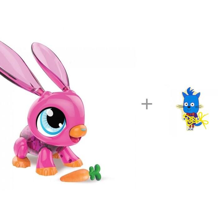 Картинка для Интерактивные игрушки 1 Toy РобоЛайф Кролик и деревянная игрушка Alatoys шнуровка Бантик