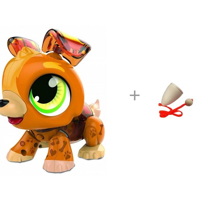 Картинка для Интерактивные игрушки 1 Toy РобоЛайф Щенок и деревянная игрушка RNToys Поймай мяч 3
