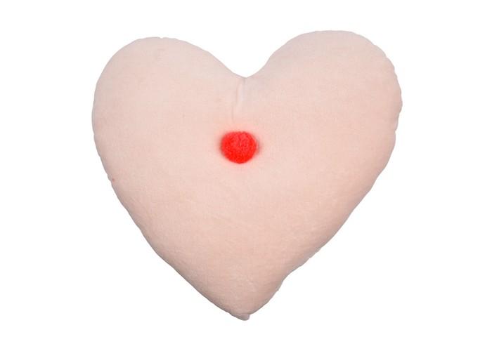 Подушки для малыша MeriMeri Подушка декоративная из вельвета Сердце декоративная подушка томдом подушка джойси