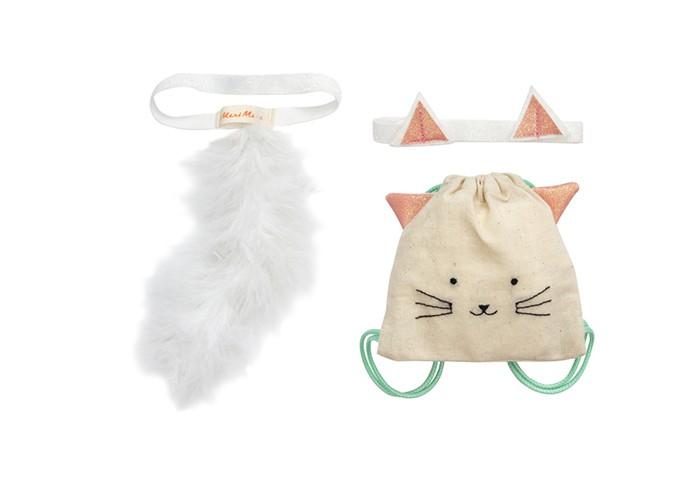 MeriMeri Наряд для куклы Рюкзак-кошка