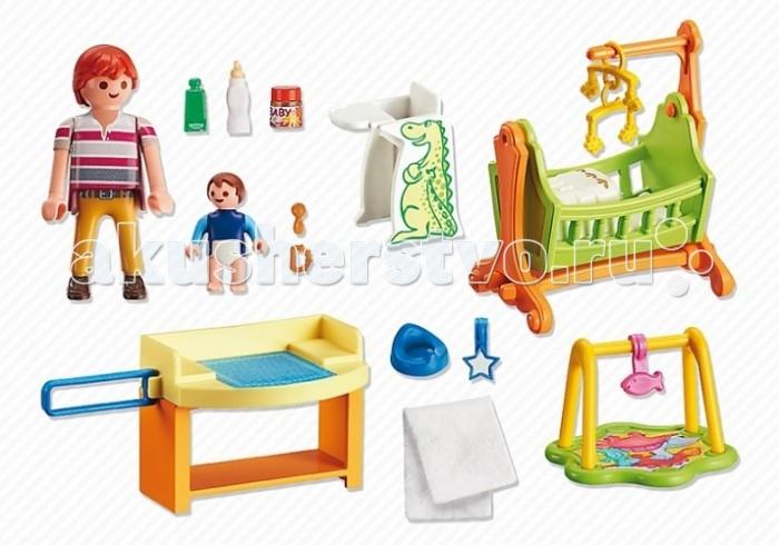 Конструкторы Playmobil Детская комната с люлькой конструкторы fanclastic конструктор fanclastic набор роботоводство