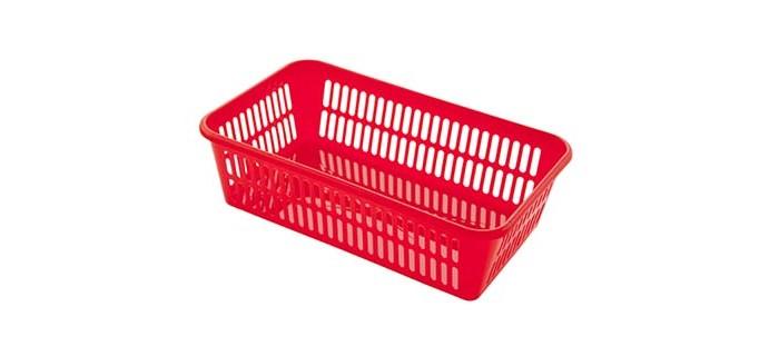 Хозяйственные товары Полимербыт Корзина 25х15х7.2 см корзина для белья полимербыт 38 55 см угловая