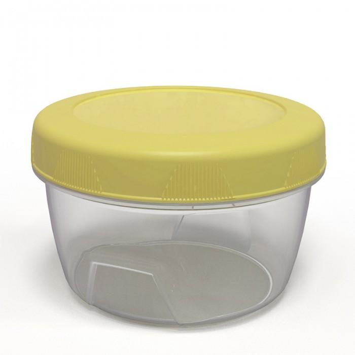 Картинка для Контейнеры для еды Полимербыт Банка для хранения продуктов с закручивающейся крышкой 0.15 л