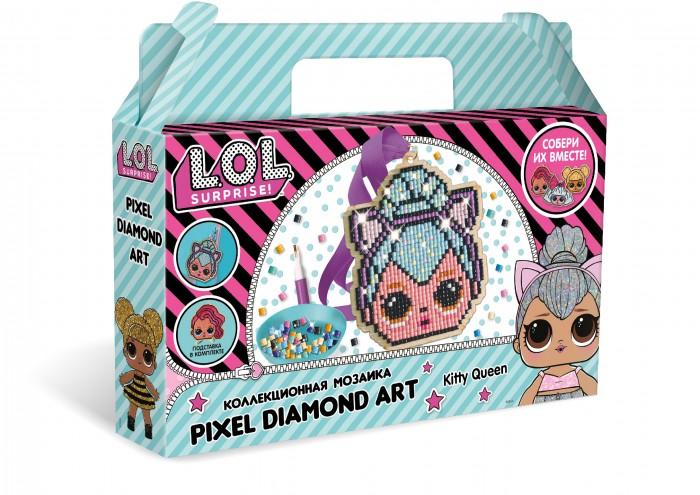 Картинка для L.O.L. Surprise! Пиксельная мозаика Kitty Queen