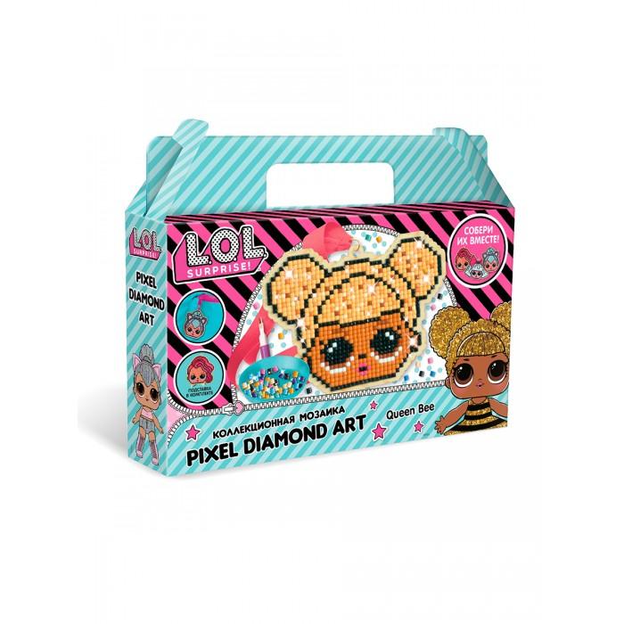 Картинка для L.O.L. Surprise! Пиксельная мозаика Queen Bee