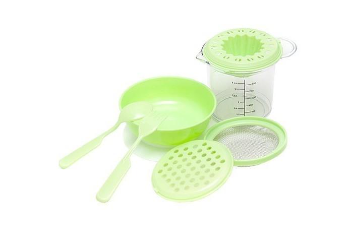 Посуда Бусинка Набор для приготовления детского питания набор для детского творчества набор веселая кондитерская 1 кг