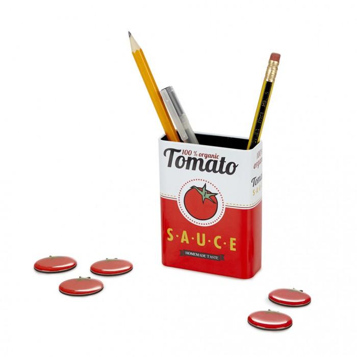 Канцелярия Balvi Набор подставка и держатели Tomato Sauce