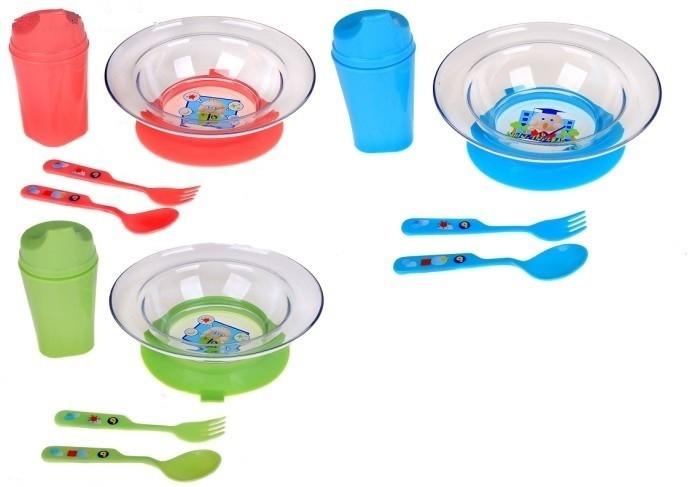 Посуда Бусинка Набор посуды подарочный кухонные девайсы patricia набор 6пр зеленый миска 2 шт поильник крышка ложка вилка