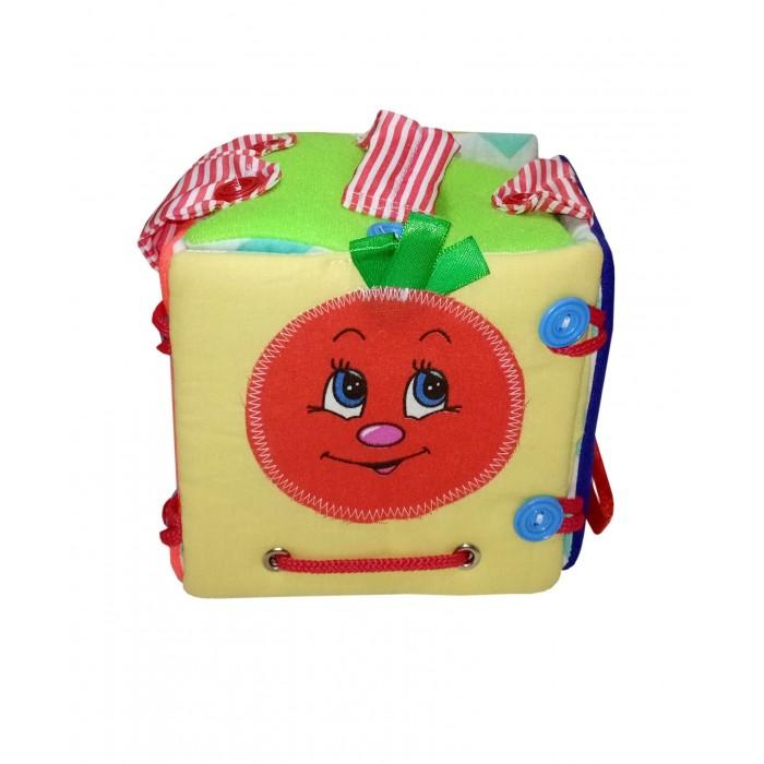 Купить Развивающие игрушки, Развивающая игрушка Учитель Куб-сумка 12x12 см