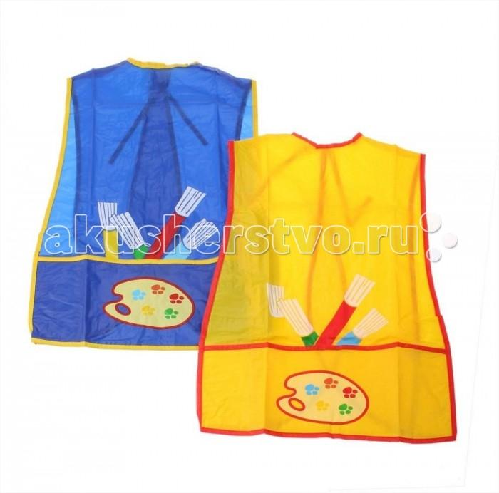Нагрудники Бусинка клеенчатый с карманом нагрудники бусинка на липучке с карманом