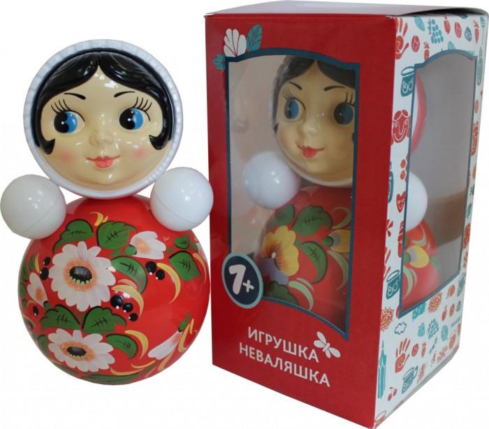 Развивающие игрушки Котовск (Неваляшки) Неваляшка Девочка расписная 26.5 см