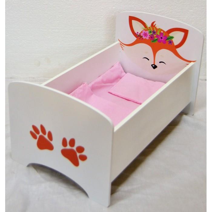 Кроватка для куклы Коняша Цветные сны Элиза