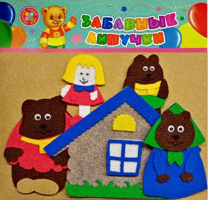 Учитель Игра развивающая и пазл Три медведя