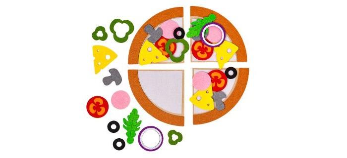 Настольные игры Смайл Декор Игровой набор из фетра Пицца