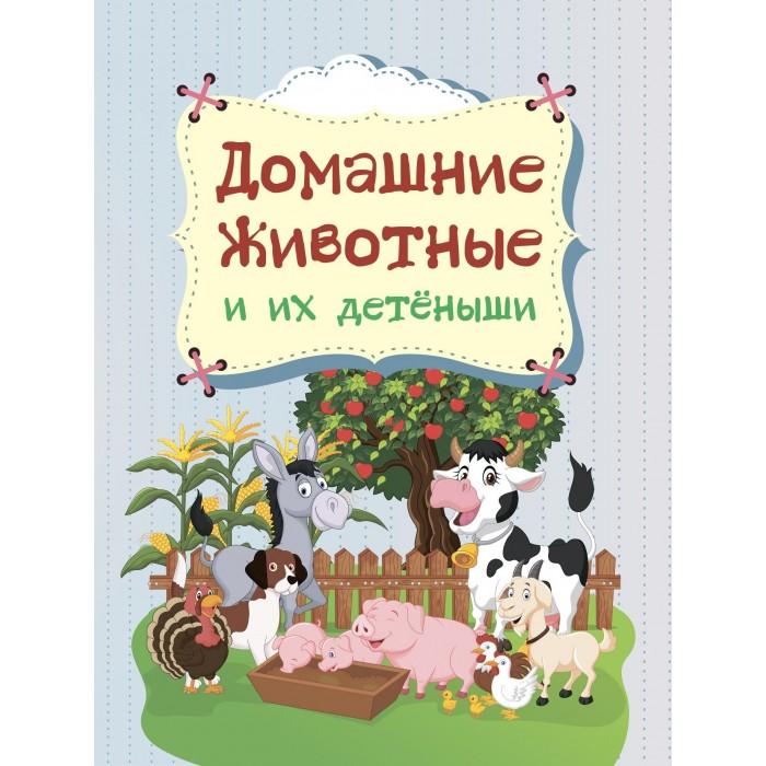 Картинка для Книжки-картонки Учитель Попова Г. П. Домашние животные и их детёныши