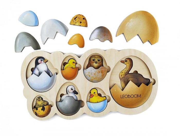 Пазлы Смайл Декор Рамка вкладыш Кто живет в яйце