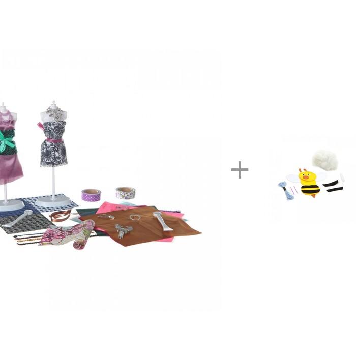 Наборы кройки и шитья Bondibon Студия дизайна Вечерние платья и Игрушка из фетра Пчела