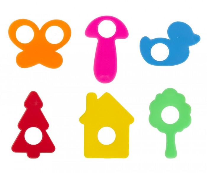Принадлежности для лепки Спектр Набор формочек для моделирования 6 шт. набор формочек 5 шт dosh i home набор формочек 5 шт
