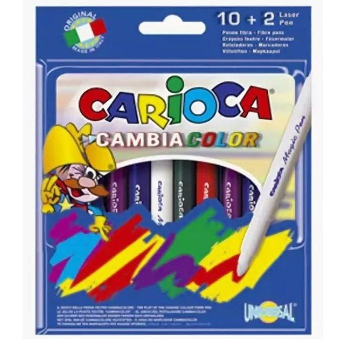 Фломастеры Carioca Magi 9 цветов и 1 волшебный