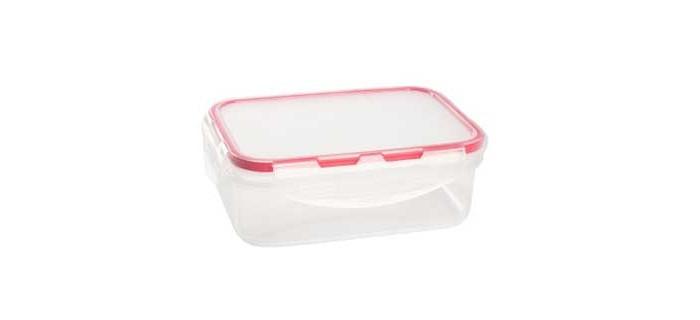 Контейнеры для еды Giaretti Контейнер для продуктов прямоугольный Clipso 1 л контейнер для продуктов 4 6 л gipfel fresh on 4806