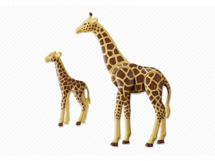 Конструкторы Playmobil Жираф с детенышем playmobil® зоопарк стая фламинго playmobil