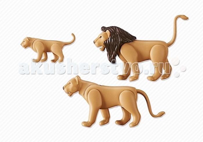Конструкторы Playmobil Семья Львов playmobil® зоопарк семья тигров playmobil