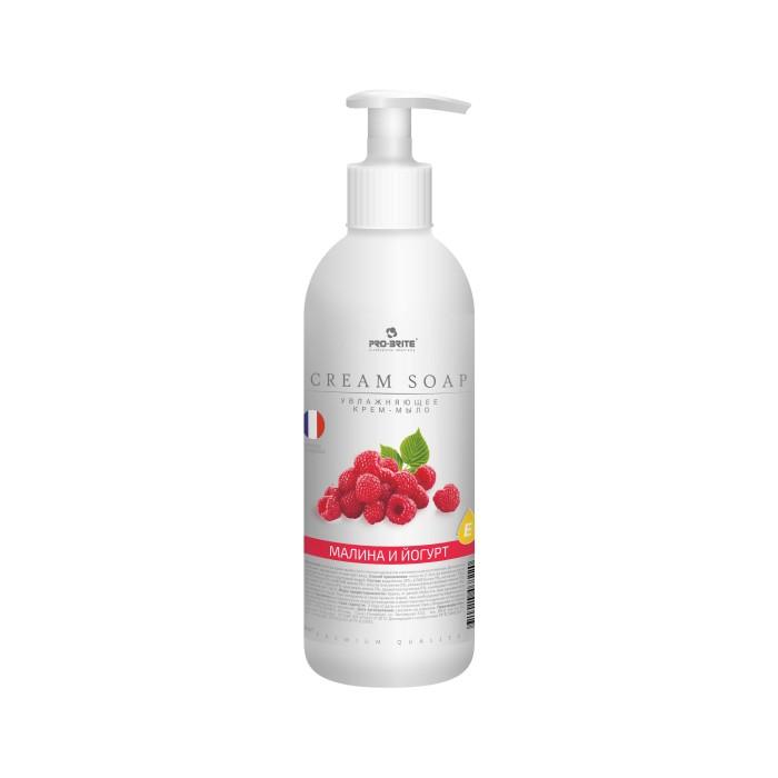 Косметика для мамы Pro-Brite Cream Soap Жидкое крем-мыло Малина и йогурт 500 мл жидкое крем мыло для рук малиновый йогурт 500 мл