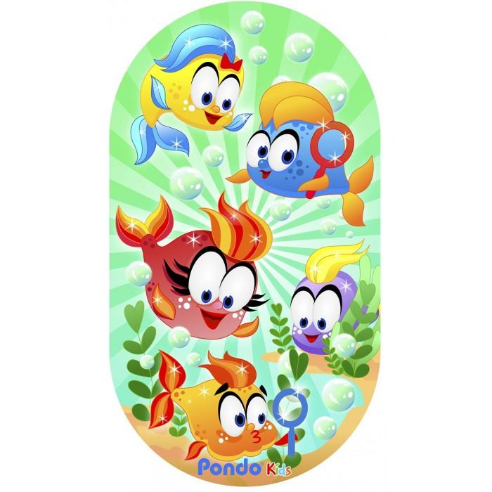 Коврики для купания Pondo Kids для ванной Веселые Рыбки 69х39 см недорого