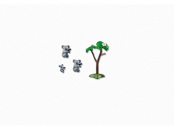 Конструкторы Playmobil Семья Коал playmobil® зоопарк семья тигров playmobil