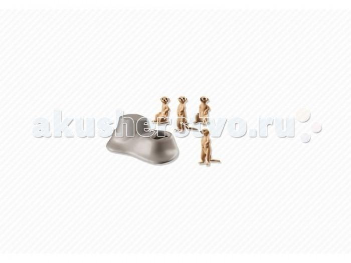 Конструкторы Playmobil Сурикаты playmobil® зоопарк стая фламинго playmobil
