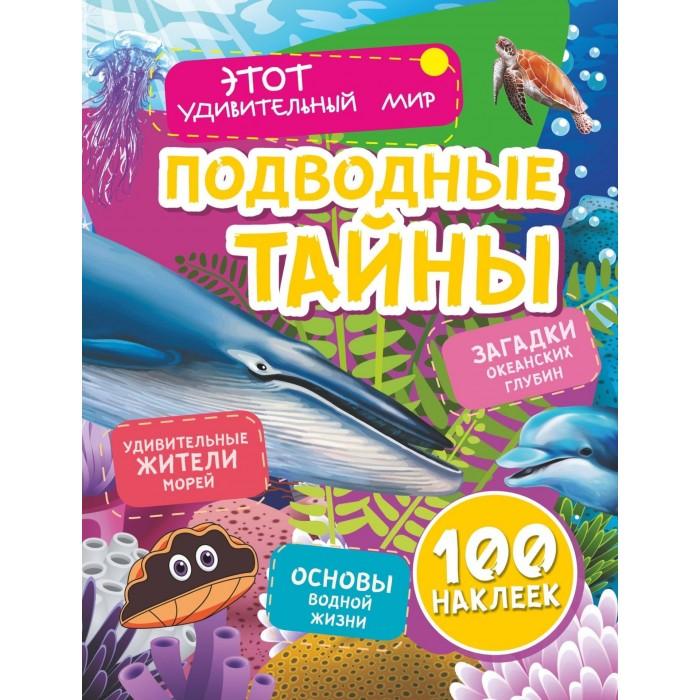 Картинка для Книжки с наклейками Учитель Андреева Ю.С Подводные тайны