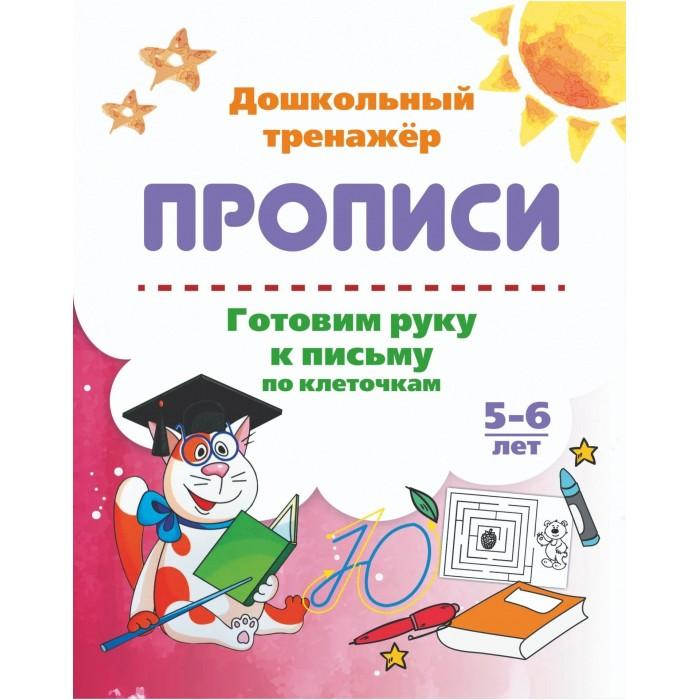 Картинка для Раннее развитие Учитель Готовим руку к письму по клеточкам 5-6 лет