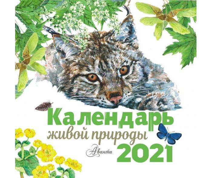 Картинка для Развивающие книжки Издательство АСТ Календарь живой природы 2021