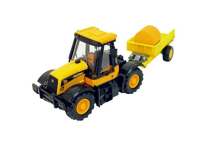 Машины JCB Cтроительная техника 1:32 Трактор игрушечные машинки на пульте управления по грязи купить